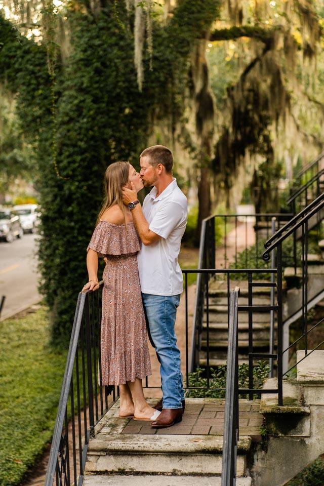 Engagement Photos In Savannah