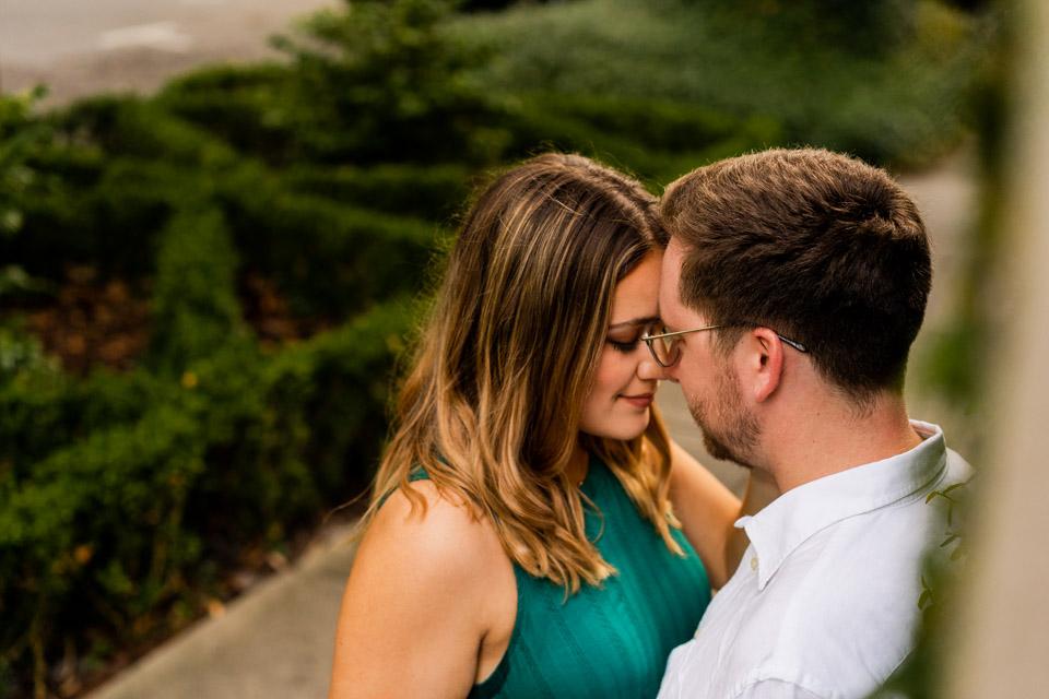 Engagement photographer in savannah