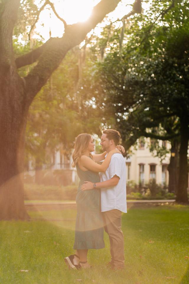 Engagement photos Savannah