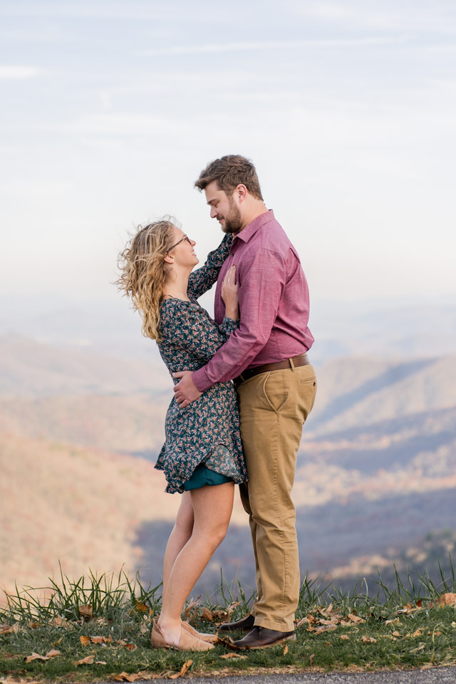 asheville north carolina engagement