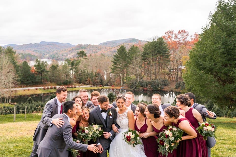 Wedding Party Asheville