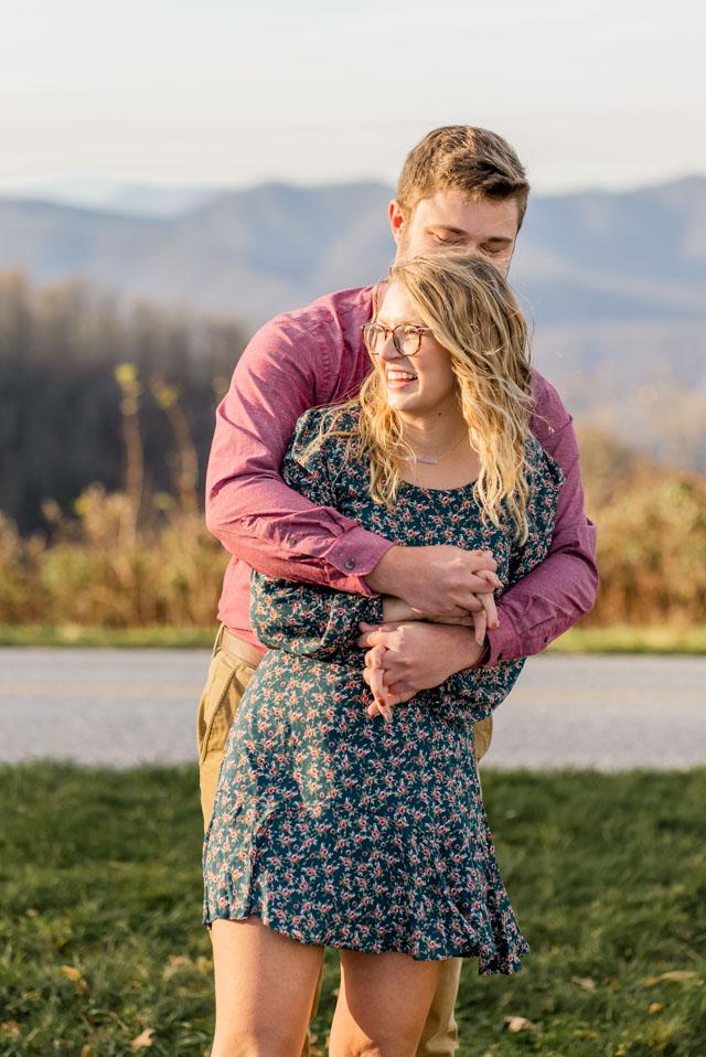 engagement photographer asheville north carolina