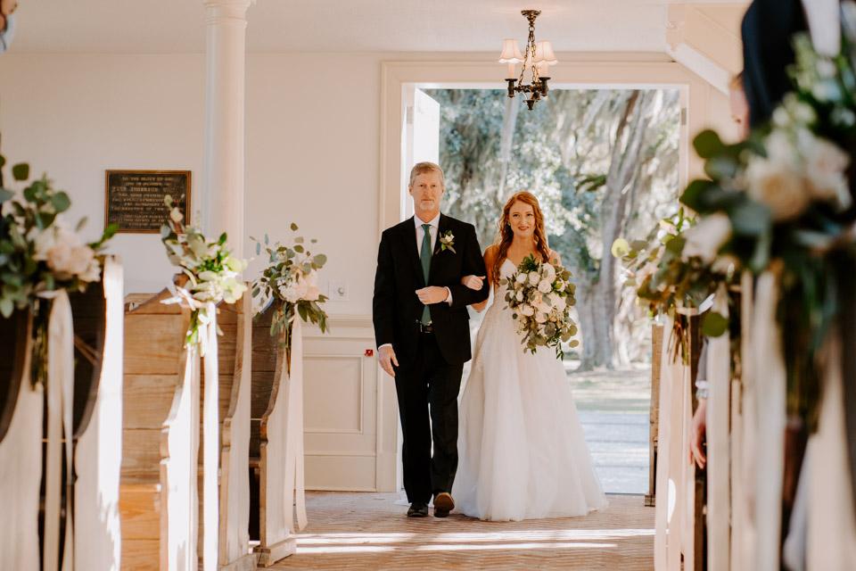 Wedding in Savannah at Bethesda