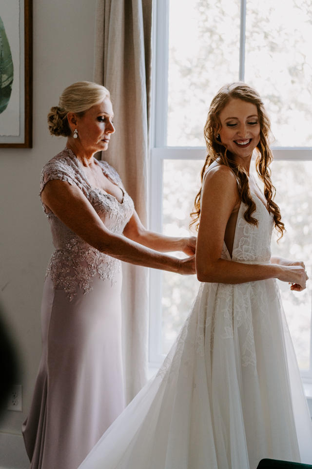 Savannah Wedding Getting Ready