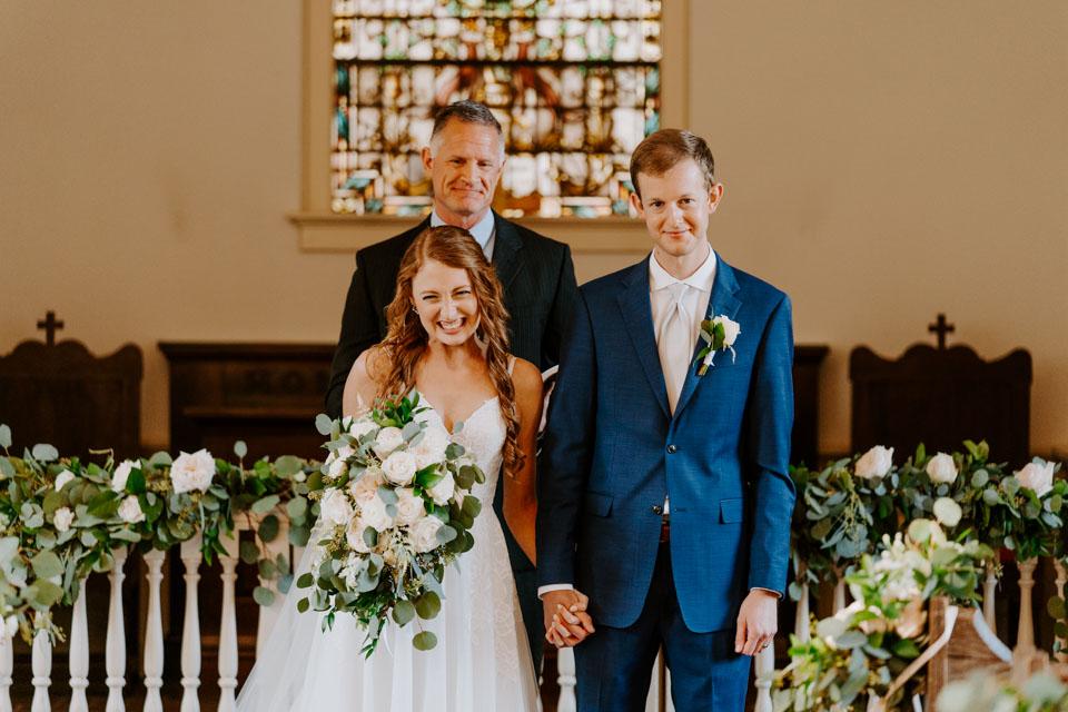 Newly Married in Savannah