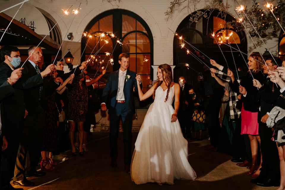 Savannah Wedding Exit