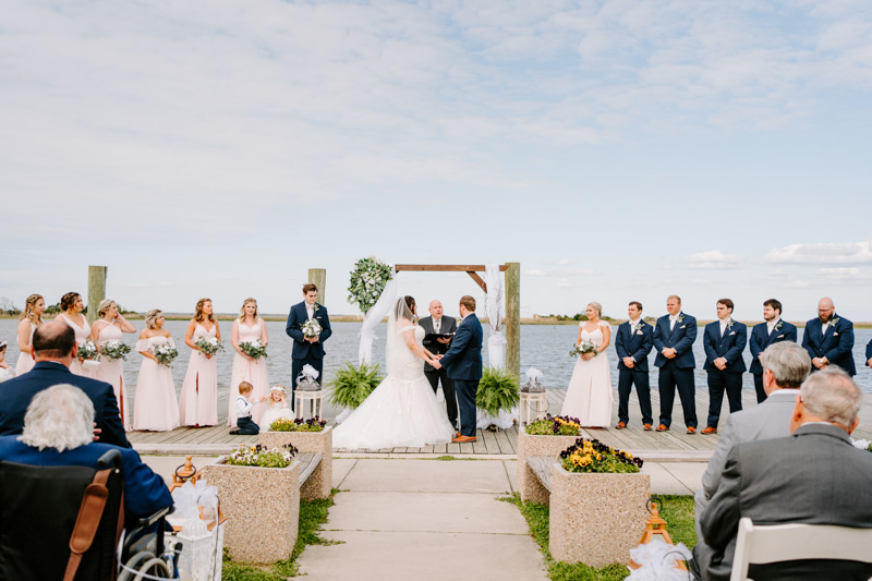 Wedding By The marina