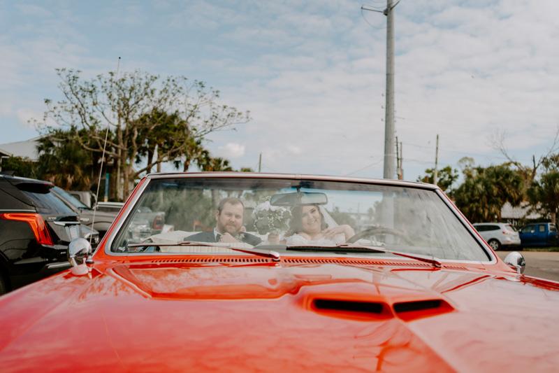 Florida Wedding Exit
